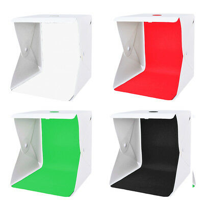 40cm Photo Softbox LED Tent Continuous Light Room Studio Shooting Box Table Cube