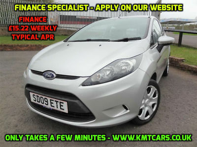 2009 Ford Fiesta 1.25 Style 10 Service Stamps, 9 Main Dealer - KMT Cars