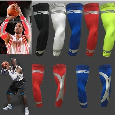 1Pair Cooling Arm Sleeves Cover UV Sun Protection Antislip Armband Outdoor Sport