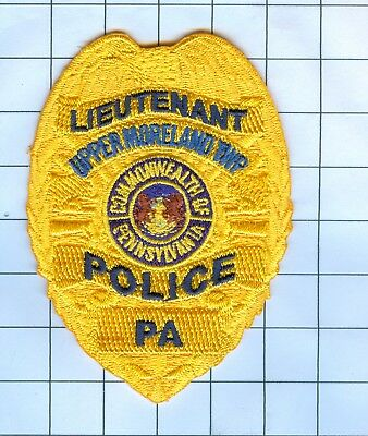Police Patch Embroidered Mini-Patch Pennsylvania - Lieutenant Upper Moreland Twp