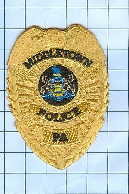 Police Patch Embroidered Mini-Patch  - Pennsylvania - Middletown
