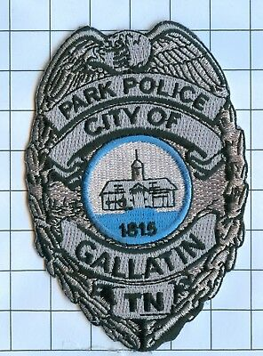 Police Patch Embroidered Mini-Patch  - Tennessee - Park Police City of Galatin