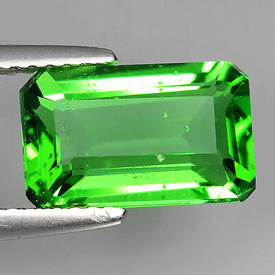 2.78 Ct Ebay Fabulous Chrome Green Natural Moldavite Octagon Cut Loose Gemstones