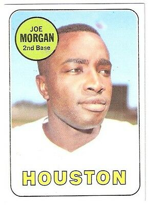 Verzamelkaarten, ruilkaarten Honkbal 1969 Topps #35 Joe Morgan Houston Astros Baseball Card