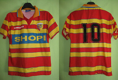 Maillot Racing Club de Lens Shopi #10 RCL vintage jersey Football - S