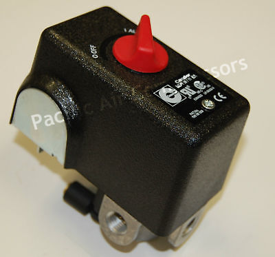 Condor Mdr 11 / 11 Ea Pressure Switch 26 Amps 120 / 240 Volts 120-155 Psi
