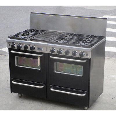 FiveStar TTN5317W Pro-Style Natural Gas Range Convection Ovens, Used