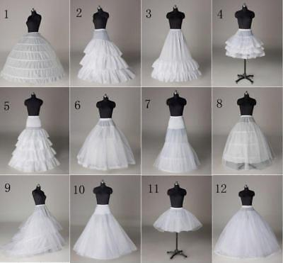 Hot 12 Style A-Line/Hoop/Hoopless/Short Crinoline Petticoat/Underskirt wedding