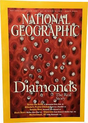 PRE-OWNED National Geographic March 2002 Geo Magazine CK309