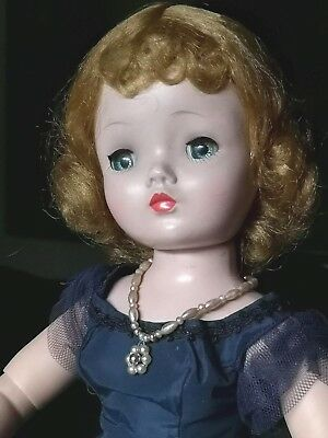 Vintage Madame Alexander 1950's Cissy Doll All Org Cocktail Outfit FREE SHIP
