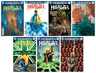 THE HELLBLAZER, VOL 1. #1A + B - #6A (The Poison Truth)
