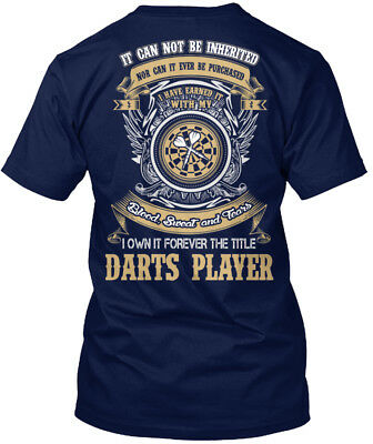 Only Few Days Left Darts Player Hanes Tagless Tee T-Shirt