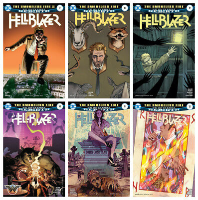 THE HELLBLAZER, VOL. 1 #6A - #12A (The Smokeless Fire)
