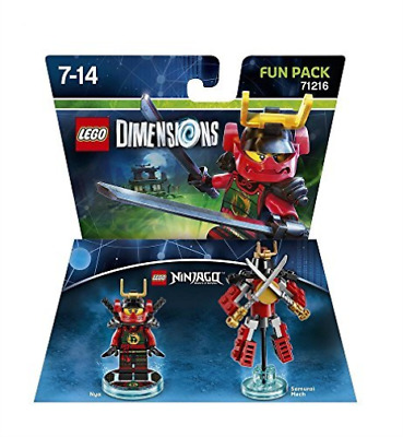 Lego Dimensions: Fun Pack - Ninjago - Nya (Xbox One/Xbox 360/Ps4/Ps...  GAME NEW