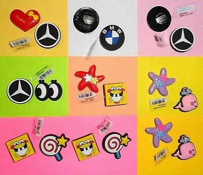 BMW, Mercedes, Spongebob & Whale  Shoe Charms Kids Sets put in Your Crocs