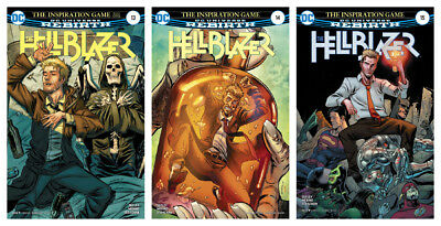 THE HELLBLAZER, VOL. 1 #13A - #15A (The Spirit Hunter)