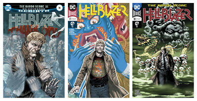 THE HELLBLAZER, VOL. 1 #16A - #18A (The Bardo Score)