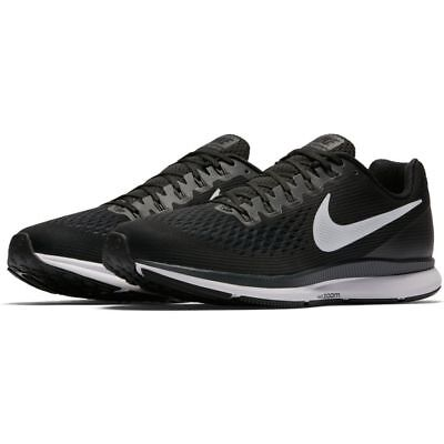 82401a9fcc0b xxNIke Air Zoom Pegasus 34 Black White Dark Grey Mens Running Shoes.xx Mens  Size  8.5