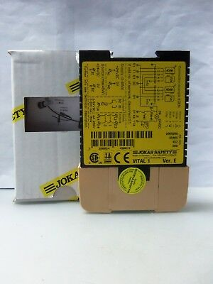 New ABB Jokab Safety Vital 1  2TLA Safety Relay 2005200 Version E  NIB