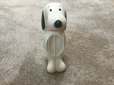 """Vintage Avon Snoopy """"Floating"""" Rubber Soap Dish"""