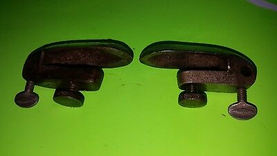 1 Pair Of Draw Knife Chamfer Guides-These Don't Come Around Very Often-Original