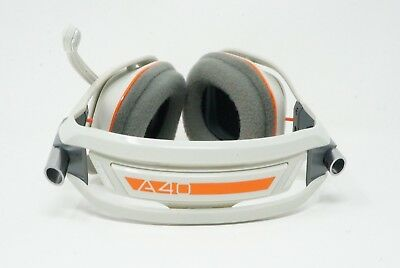 Astro A40 Headset Light Grey/Orange (Headset and microphone only)