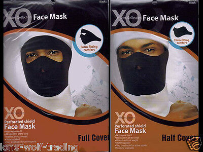 Motorcycle,Skiing,Biking,Black Neoprene Full or Half Face Mask-20105,20103