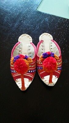 Pakistani/Indian Girls shoes for 3/4 year old, khussa