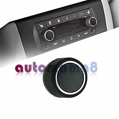 2 Pcs Replacement Rear Radio Audio Volume Control Knob for 07-13 Chevrolet GMC