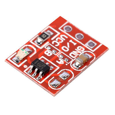 1/5/10Pcs TTP223 Capacitive Touch Switch Button Keypad Self-Lock Red Modules