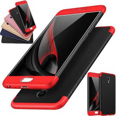 360° Full Protection Hybrid Armor Phone Case Cover For Meizu M6s/M6 Note/M5 Note