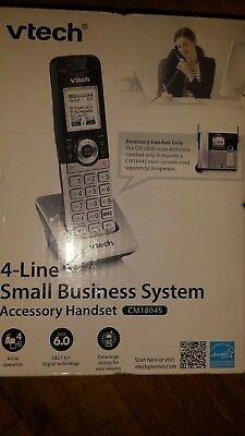 vtech 4-Line Small Business System Accessory Handset CM18045 NEW SEALED