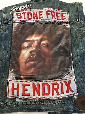 Jimi Hendrix Rare Denim Ecko Unlimited Jeans Jacket New With Tag Size M