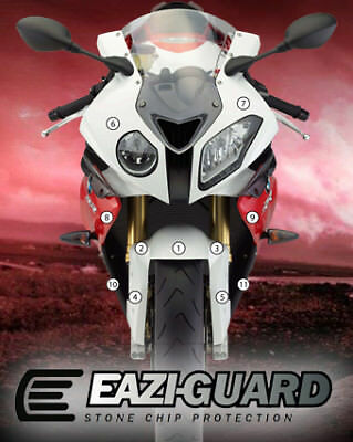Eazi-Guard Stone Chip Paint Protection Film for BMW S1000RR HP4 2009 - 2014