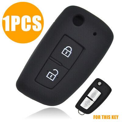 2 Button Car Silicone Remote Key Keyless Cover Fob Case Shell For Nissan Qashqai