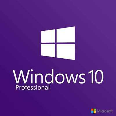 Microsoft Windows 10 Pro. Digital Key. Instant Delivery. 32/64 bit