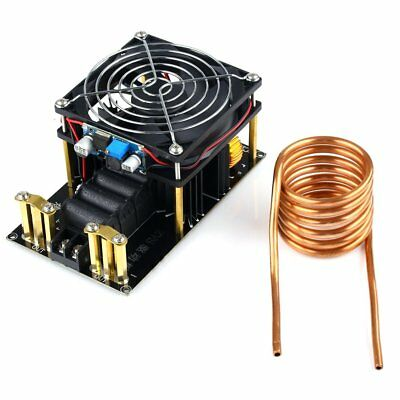 1000W 20A ZVS Induction Heating Board Module Heater DC12-36V + Tube