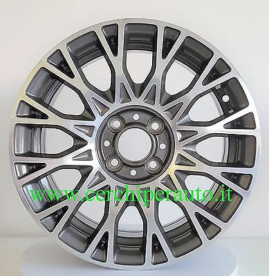 4 Cerchi In Lega Fiat Bravo 6X15 Wsp Anthracite Polished W162 **