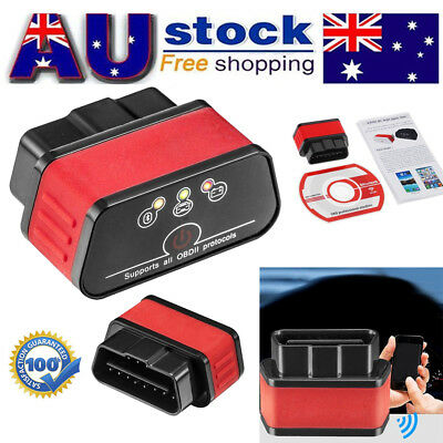 KW903 ELM327 Bluetooth OBD2 OBDII Car Diagnostic Scanner Scan Tool for Android