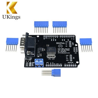 Arduino MCP2515 EF02037 SPI CAN BUS Shield Controller Communication Speed High