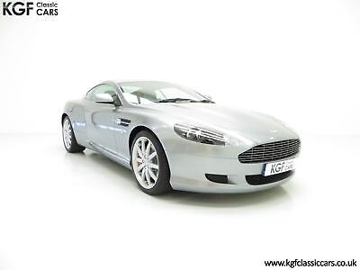A Thoroughbred Aston Martin DB9 with Full Main Dealer History and 10,920 Miles