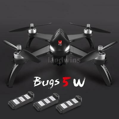 MJX Bugs 5W 1080P 5G Wifi FPV Camera GPS Altitude Hold RC Drone Quadcopter S6Y2