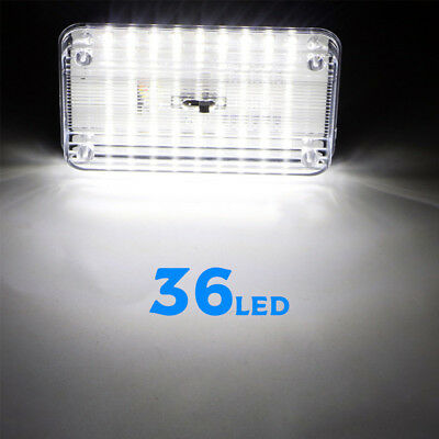 12V 36 LED Car Vehicle Interior Dome Roof Ceiling Reading Trunk Light Lamp  66