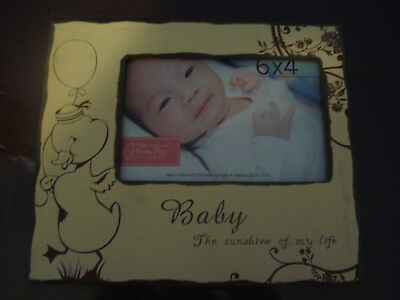 Adorable New Infant Baby Picture Frame Ready For A Photo, Gift