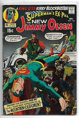 Superman's Pal Jimmy Olsen 134 KEY 1st appearance of Darkseid ripped back cover
