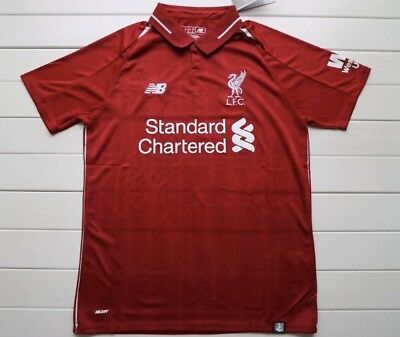 Liverpool Home Football Shirt 2018 2019 (Next Day Delivery)