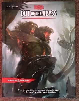 OUT OF THE Abyss D&D Dungeons and Dragons 5th edition 5e