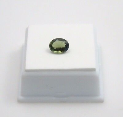 Moldavite - 1.40ct - Oval - 9x7mm - Moldavite Loose Gemstone