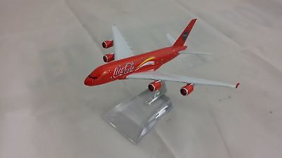 16cm Airbus A380 Coca Cola Metal Plane Model Aircraft Toys Special Edition Gift
