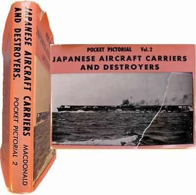 Japanese aircraft carriers & destroyers 1964 Pocket pictorial 2 Navies